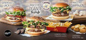 McDonald's Maestro Zigante Tartufi