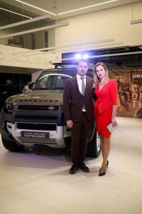 Danijel Benussi, vlasnik tvrtke Auto Benussi d.o.o. sa suprugom Ivanom Benussi