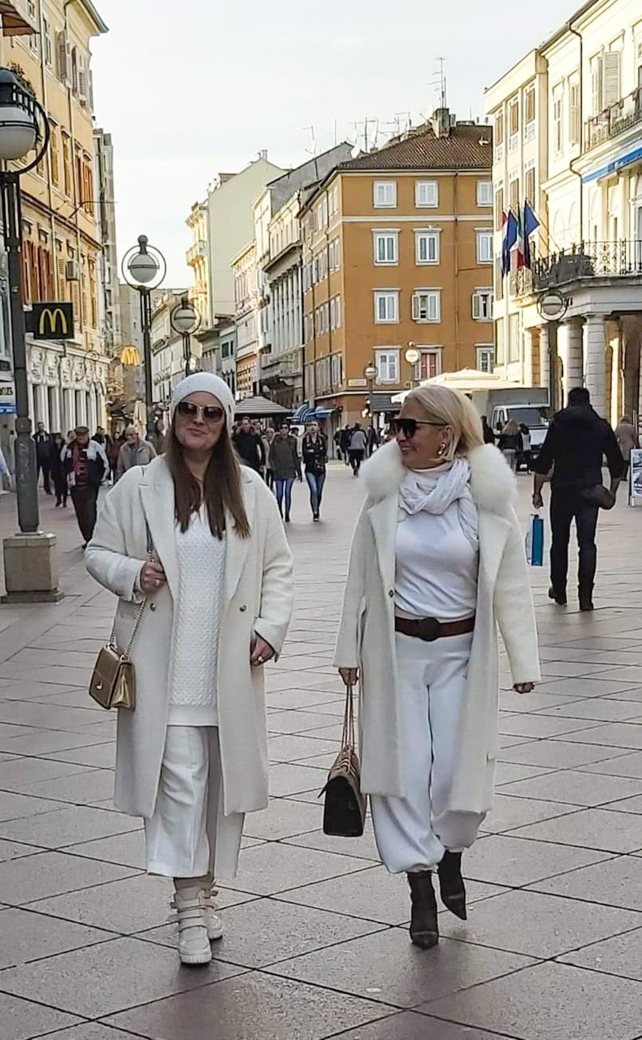 Streetstyle: Bijela boja - boja koja odlično pristaje svakom godišnjem dobu!