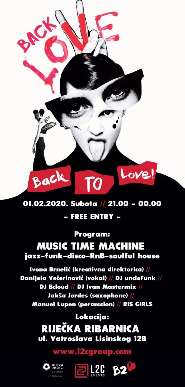 EPK Rijeka 2020: Back2love za sve ljubitelje dobre glazbe i plesa