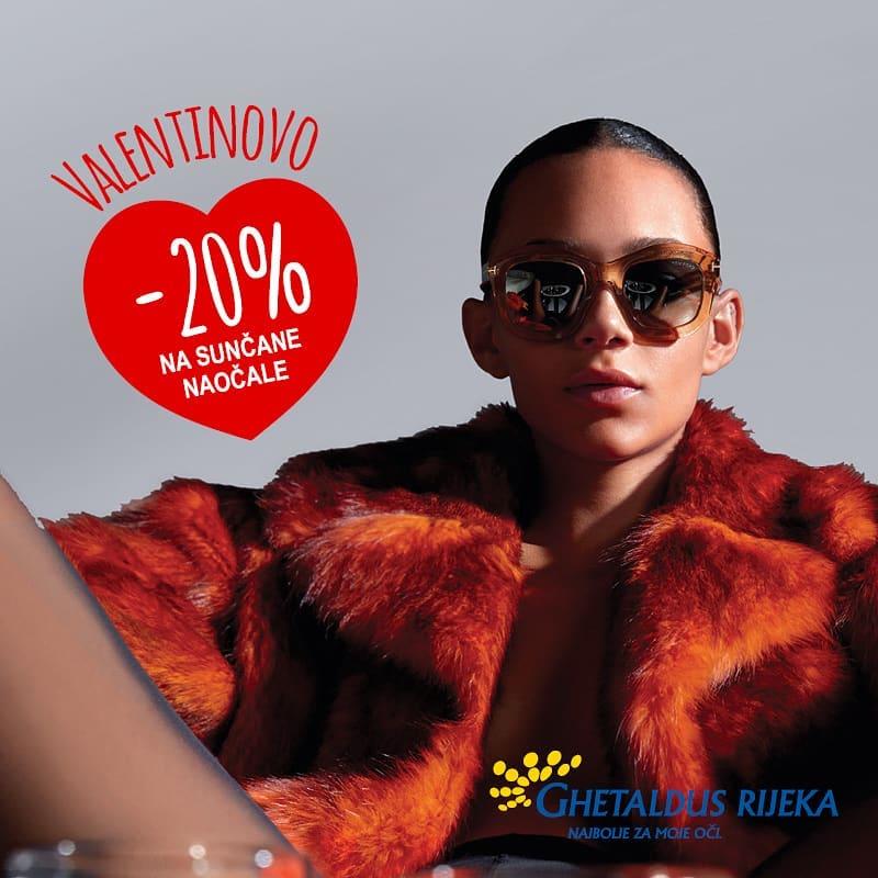 Ghetaldus Rijeka vam povodom Valentinova daruje 20% popusta!