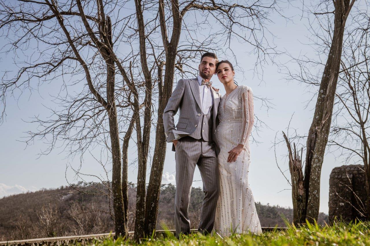Extravagant editorials: White Wedding