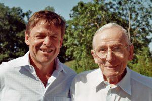 Otac i sin David i Fred Pestalozzi