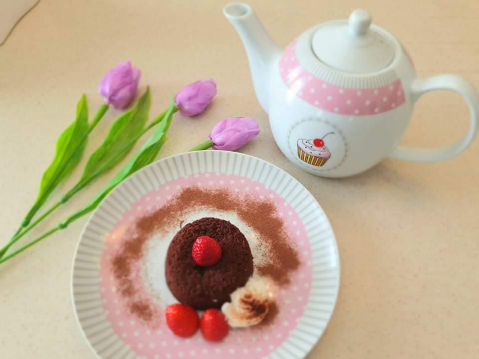 Maja kuha: Lava cake u 15 minuta