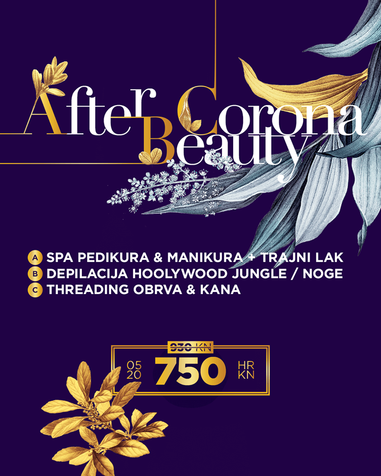 Vrijeme je za after Corona Beauty paket u Aya holističkom studiju!