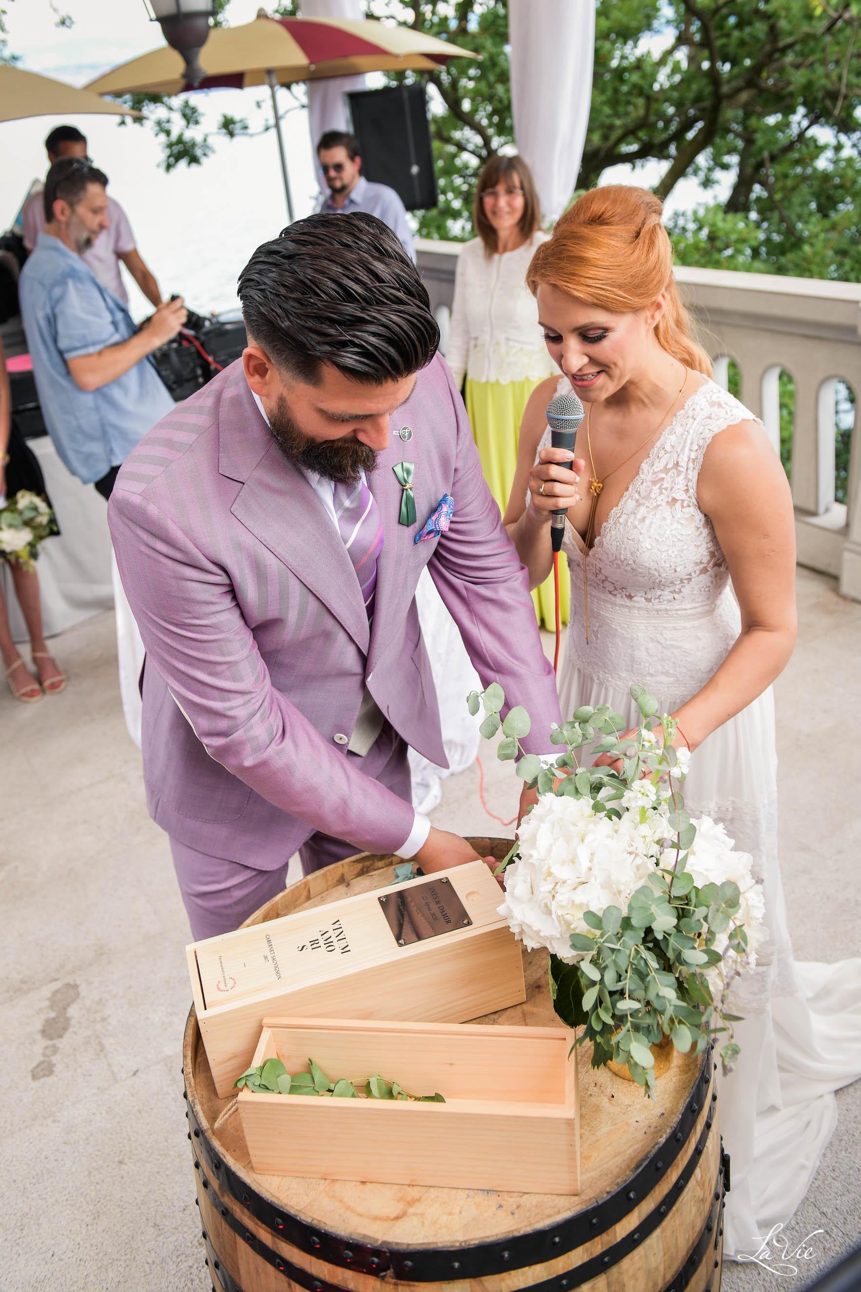 "Eudaimonia wedding party uz projekt ""Vinum amoris"""