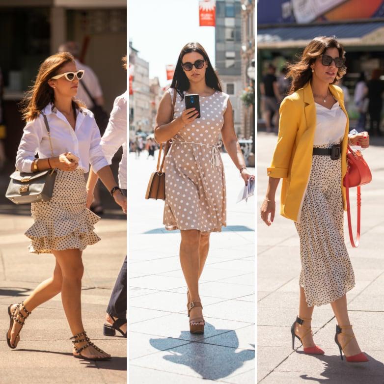 Extravagant Streetstyle: koja točkasta kombinacija Vam se više sviđa?
