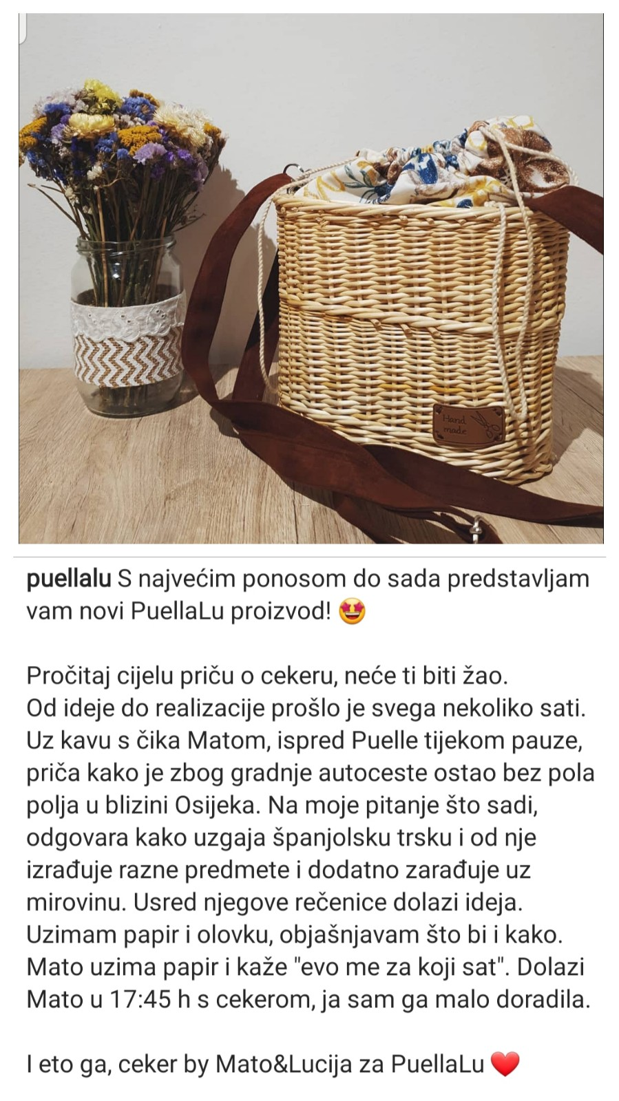 Puella Lu - najljepši cekeri proizvode se u Osijeku