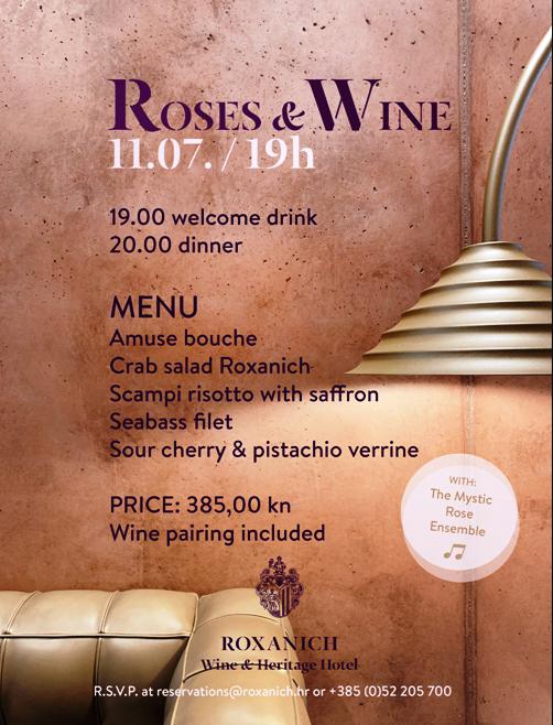 Raskoš okusa u Wine & Heritage hotelu Roxanich