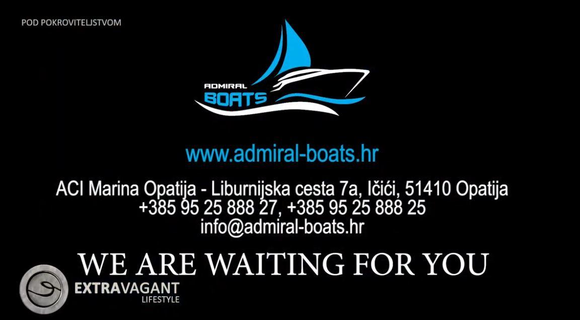 Ovo ljeto otkrijte neistražene uvale našeg mora uz Admiral Boats!