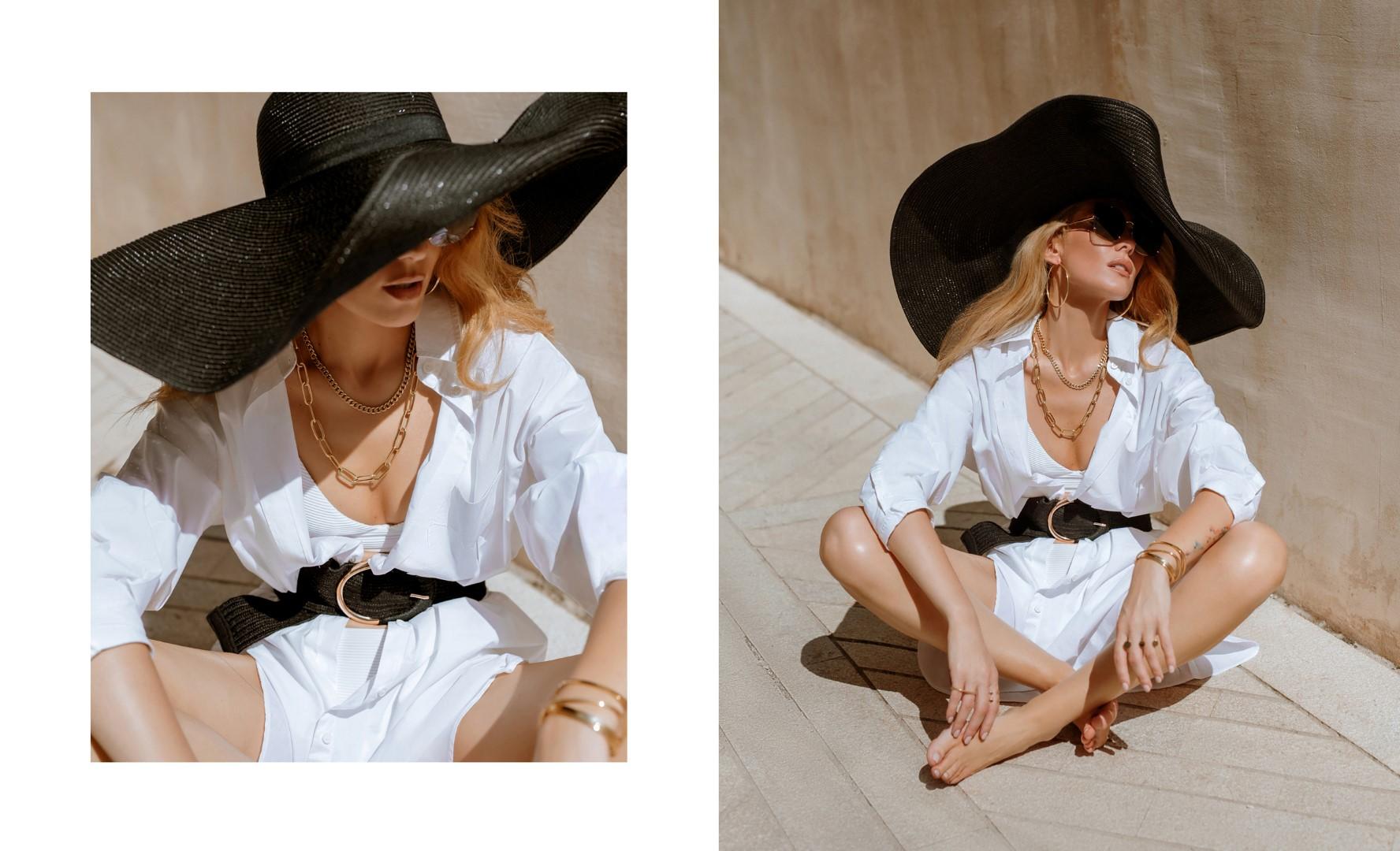 Ivana Mišerić kao modern femme fatale u Karat Jewelry ljetnoj kampanji