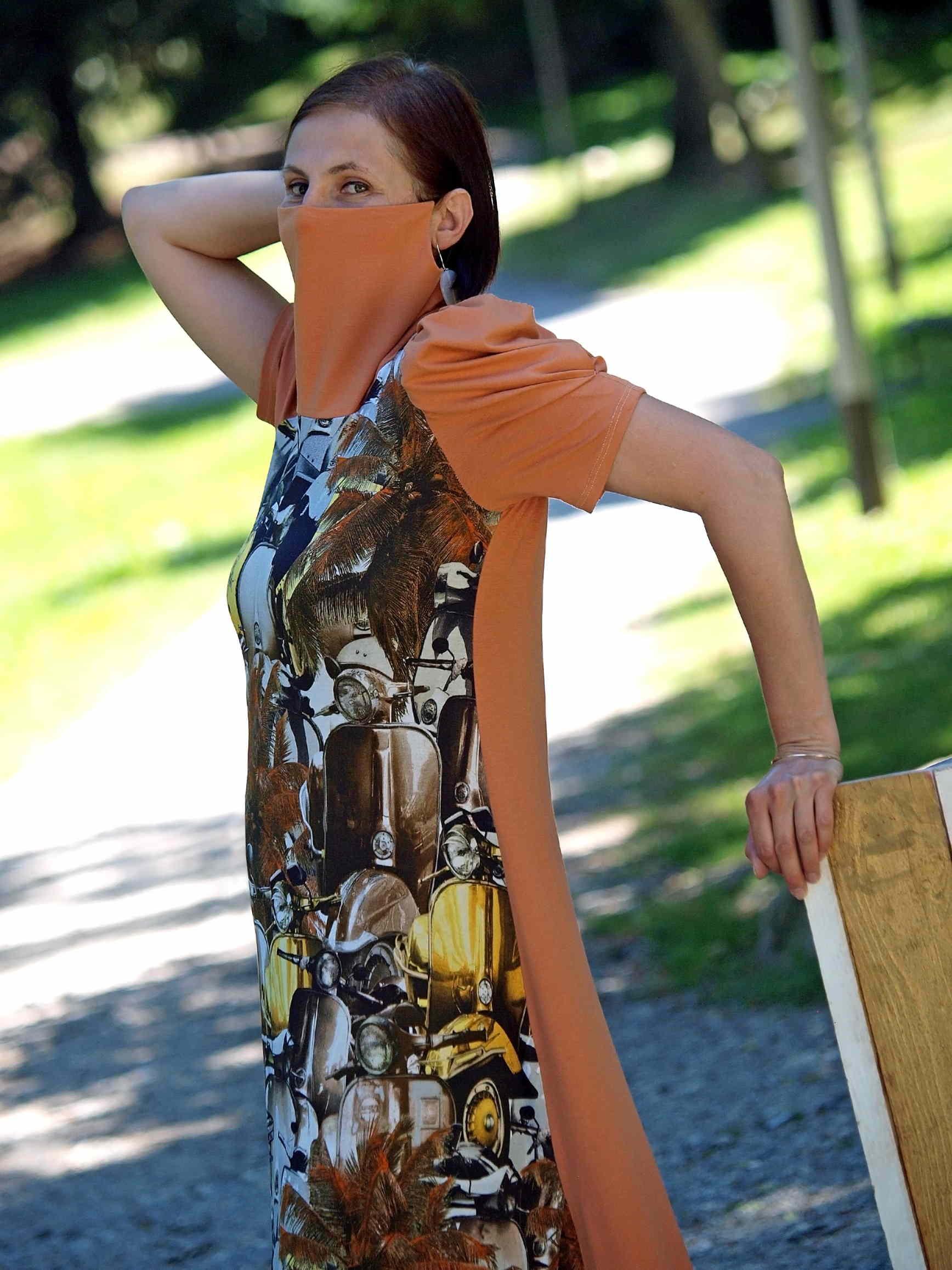 ALMAfashion SUMMER TRIP - haljine pokrivalice sa stiliziranom zaštitnom maskom!