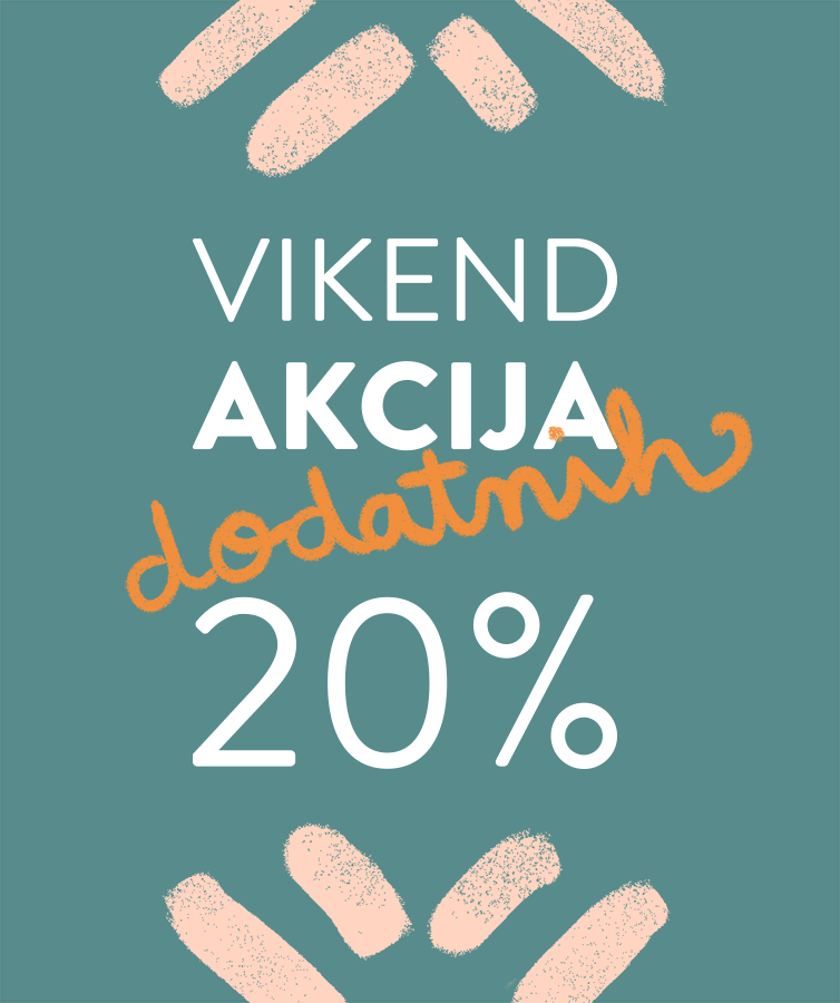 Vikend akcija u prodavaonicama Karla - dodatnih 20%!