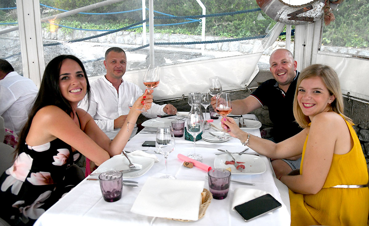 U Yacht Clubu Opatija održana vinska večer uz Vinariju fakin