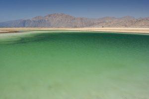 Green waters of Dahab