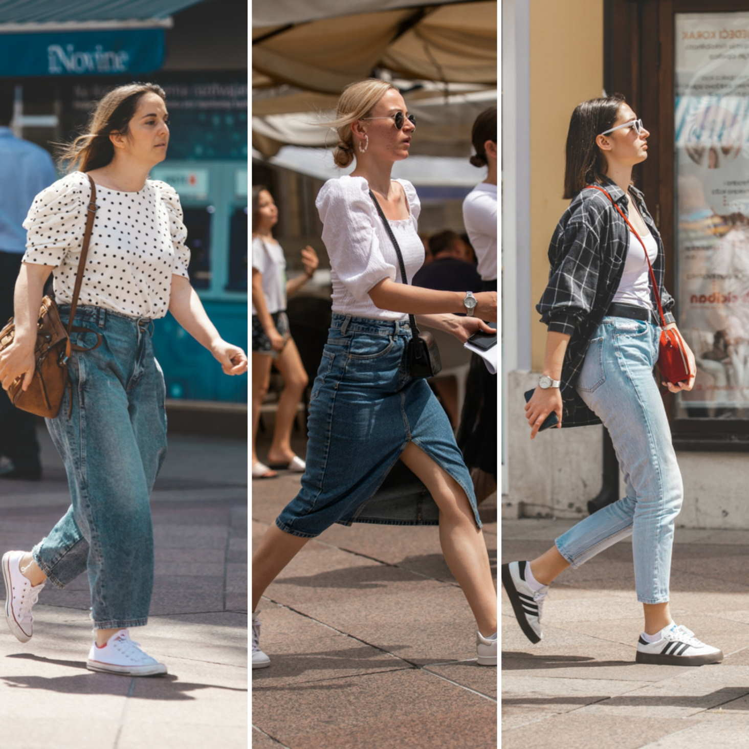 Extravagant Streetstyle: jeans generacija (za)uvijek
