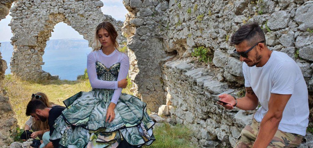 Mia Negovetić kao Ana Katarina Frankopan u videospotu za PGŽ!