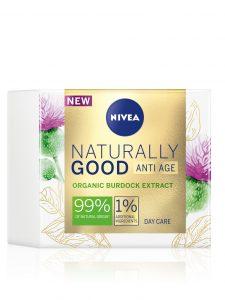 NIVEA Naturally Good Anti-age dnevna krema