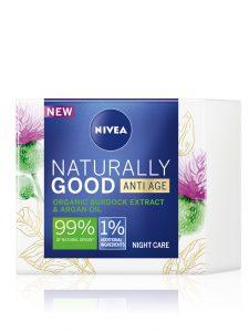 NIVEA Naturally Good Anti-age noćna krema