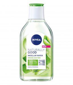 NIVEA Naturally Good micelarna voda