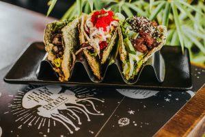 Ninja Mariachi (sushi tacos)