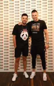 Srdjan Dokmanovic i Stefan Cvijovic