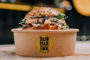 Submarine - La fantasie - burger s kavijarom