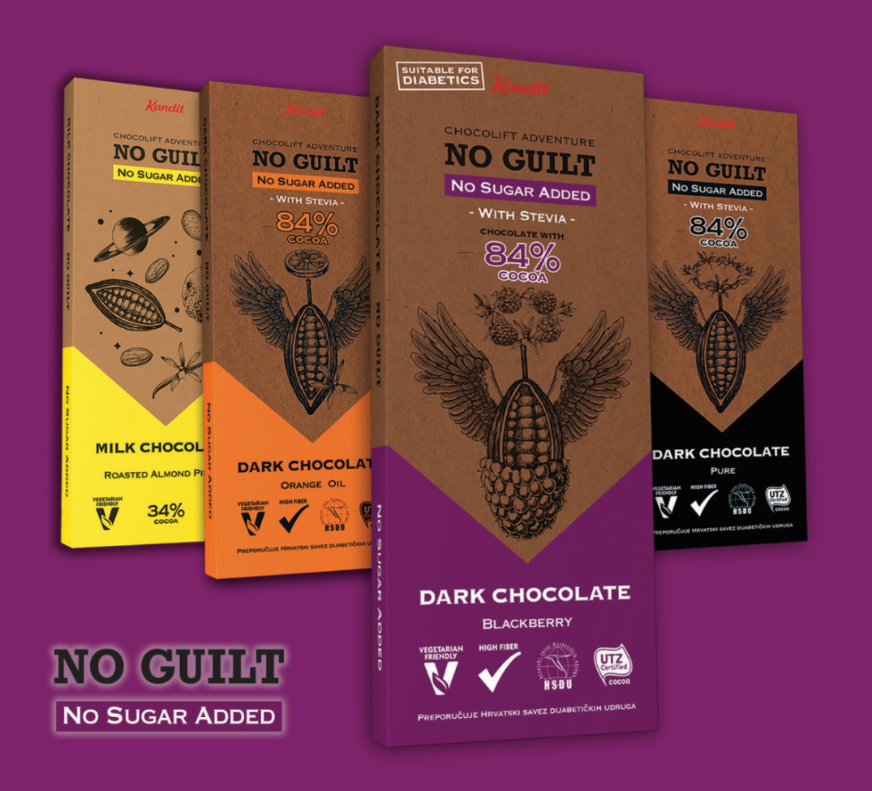 Kandit No guilt Blackberry: idealna čokoladno-voćna slastica