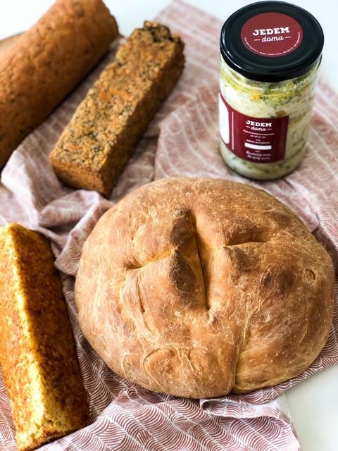 Novo! 4 vrste kruha bez pšeničnog brašna