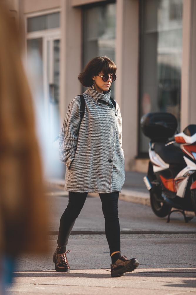 Extravagant Streetstyle: hoćemo ovaj kaputić!