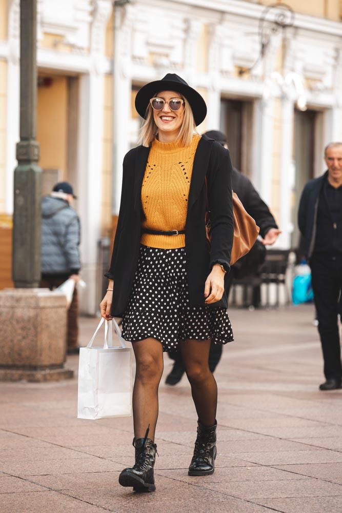 Extravagant Streetstyle: ova djevojka zna što se nosi ove jeseni!
