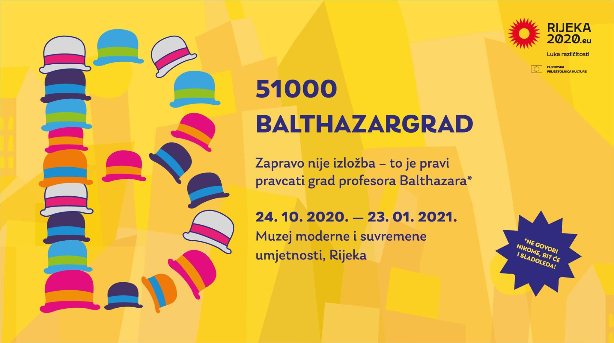 """Otvoren """"51000 Balthazargrad""""; najveća izložba posvećena Profesoru Balthazaru u sklopu EPK 2020!"""