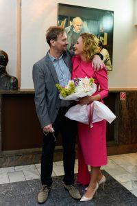 Ecija Ojdanic sa suprugom Robertom Orhelom