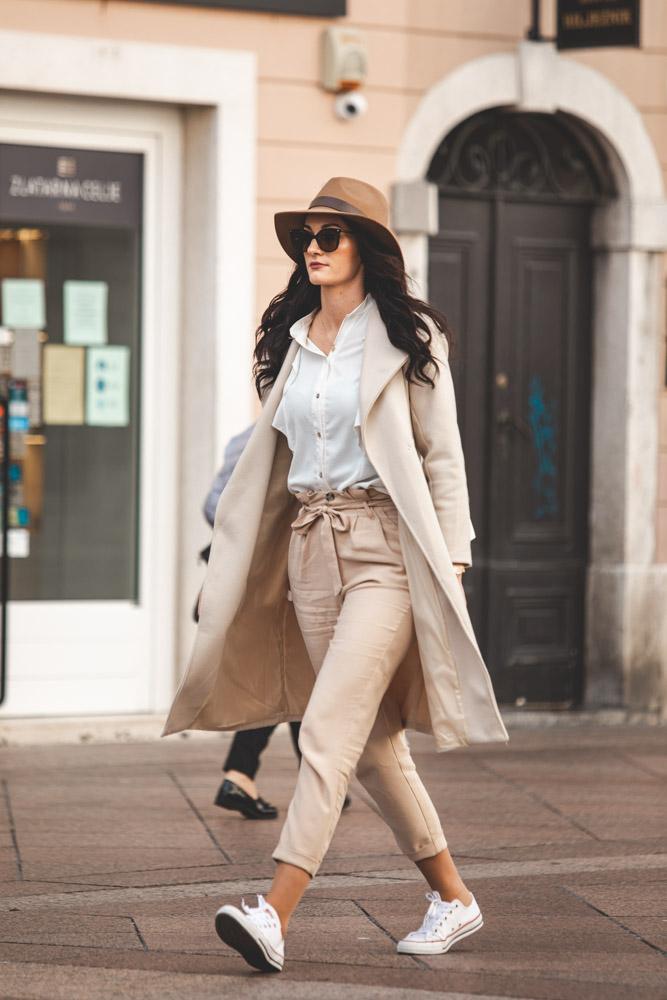 """Extravagant Streetstyle: šešir kao točka na """"i"""""""