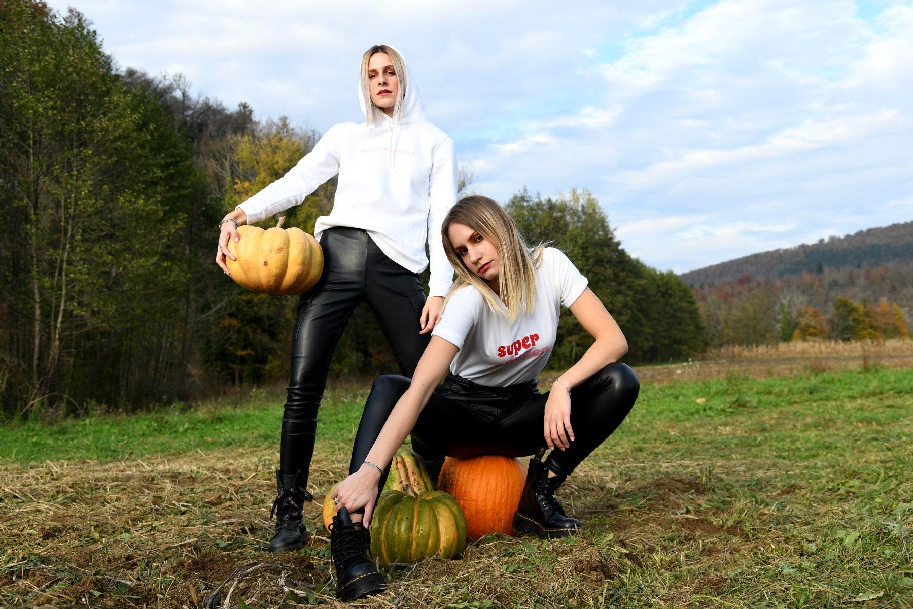 Extravagant editorijal: Hoodies, pumpkins and more...
