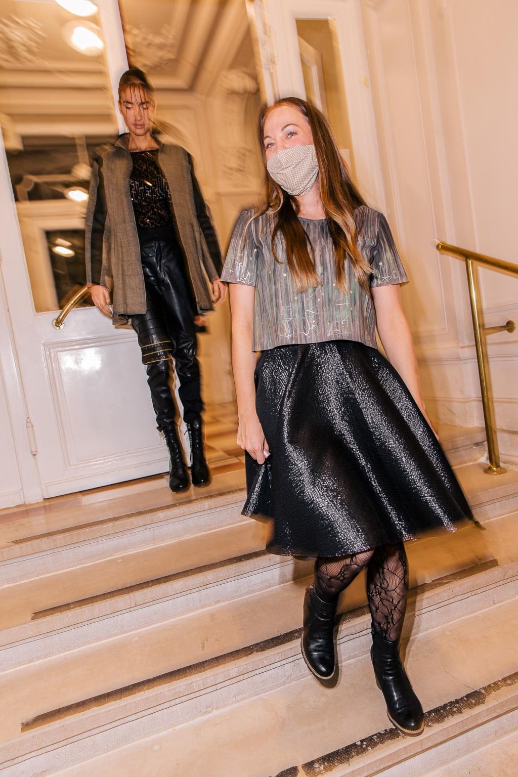 Modna dizajnerica Mirna Posavčević predstavila je novu kolekciju GRACE na Zagreb Fashion Destination-u!
