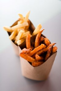 French fries & Sweet potato