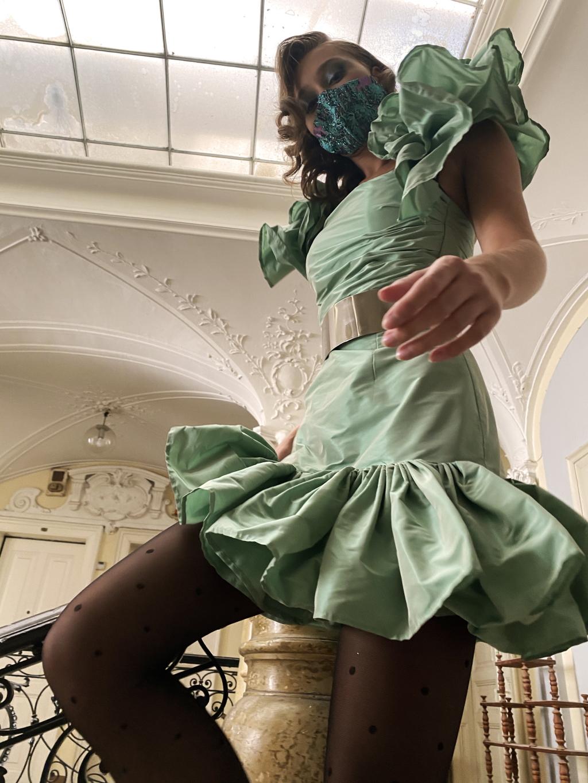 Ljepota neobarokne palače bila je savršena kulisa ovom modnom editorijalu!