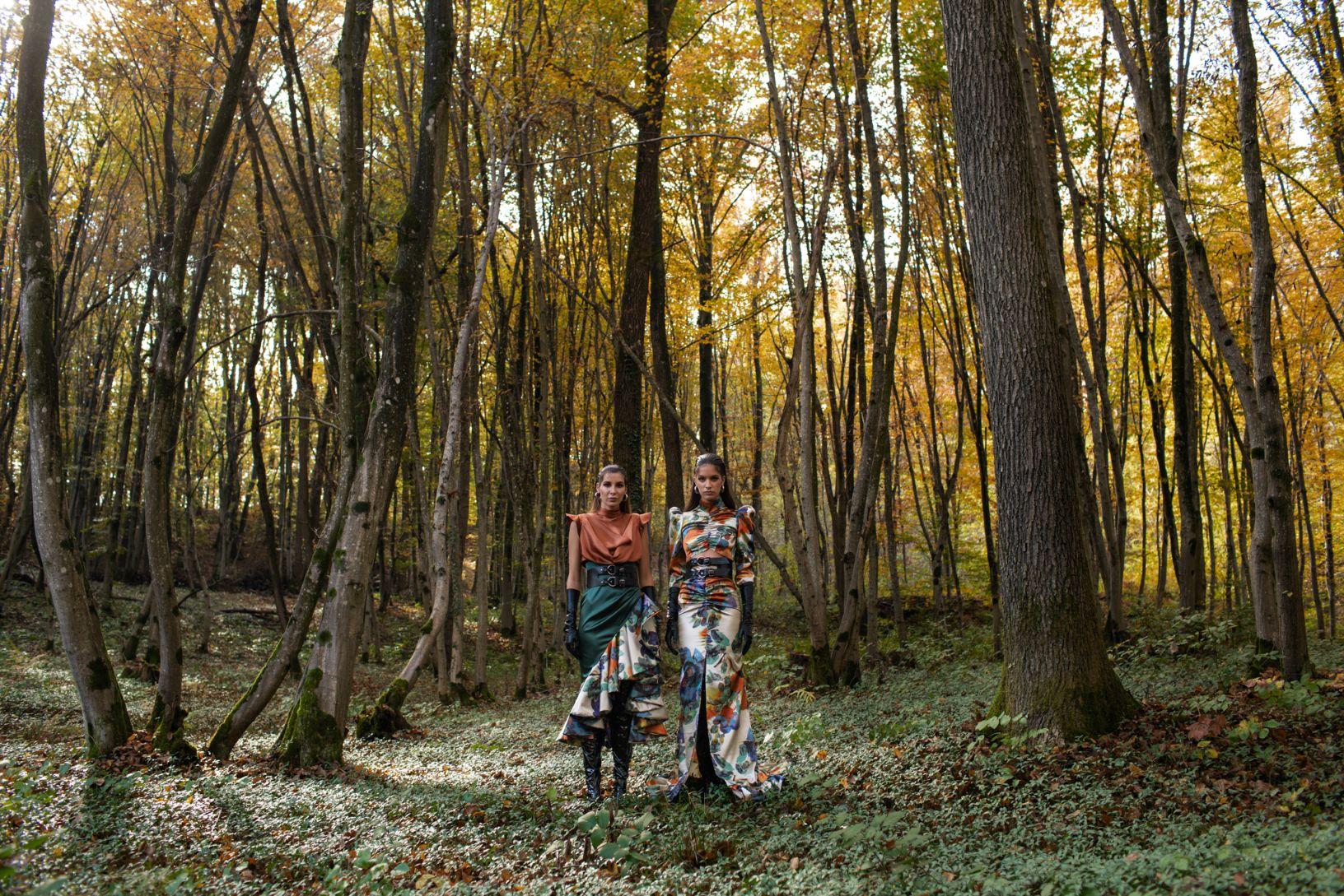 Virtualna revija dvojca eNVy room na čudesnoj šumskoj pisti!