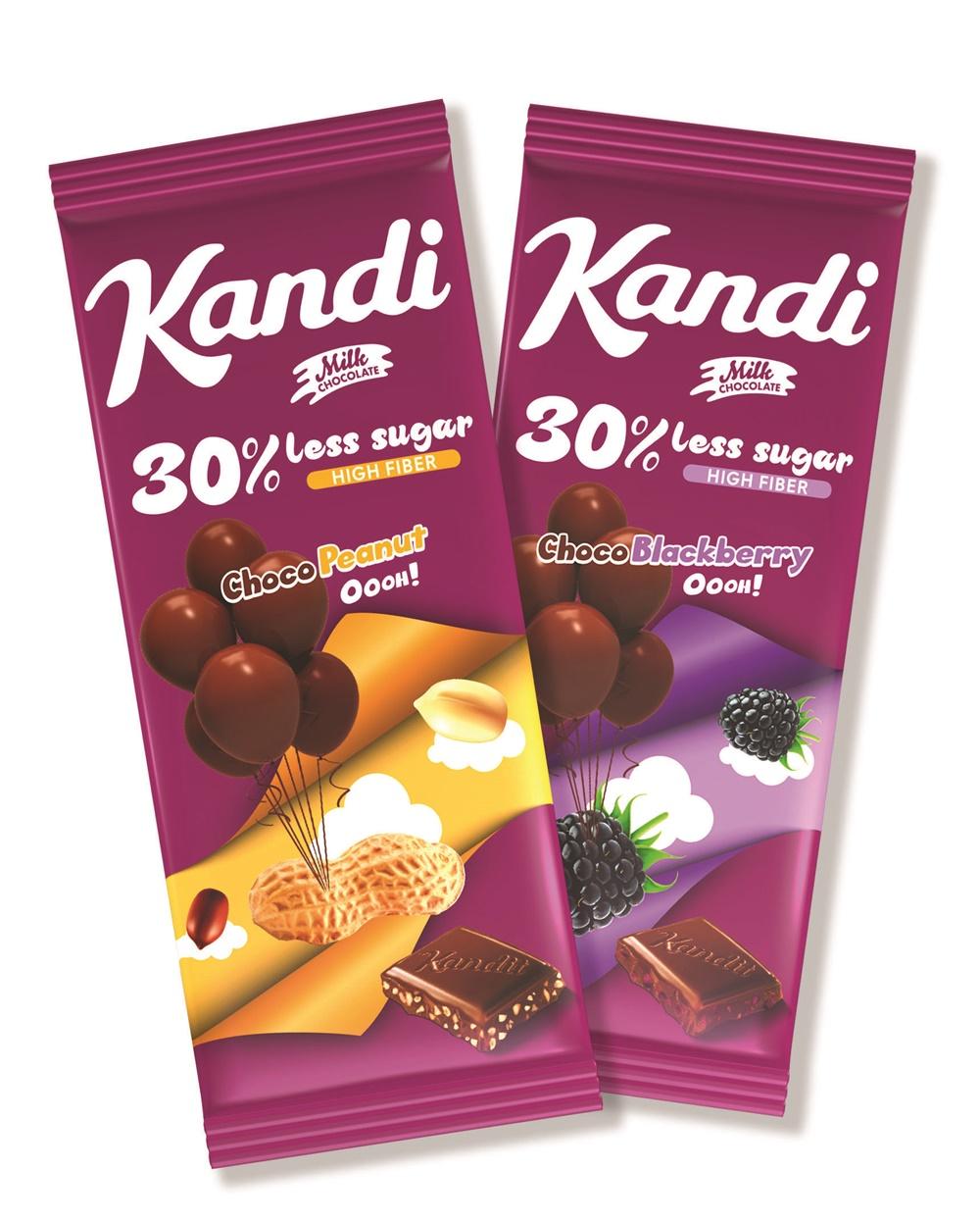 """Mliječna čokolada koja će zaluditi sve slatkoljupce - Kandi """"Less sugar"""""""