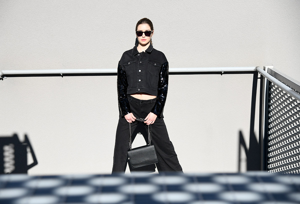 Extravagant editorijal: All black everything