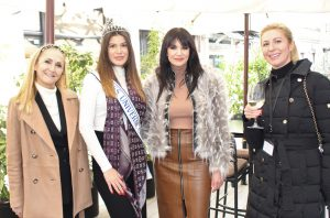 Predsjednica IWCZ Johanna Petreski, Miss Universe Hrvatske Mirna Naiia Marić i Ivana Delač te dopredsjednica IWCZ Agnieszka Gaworczuk