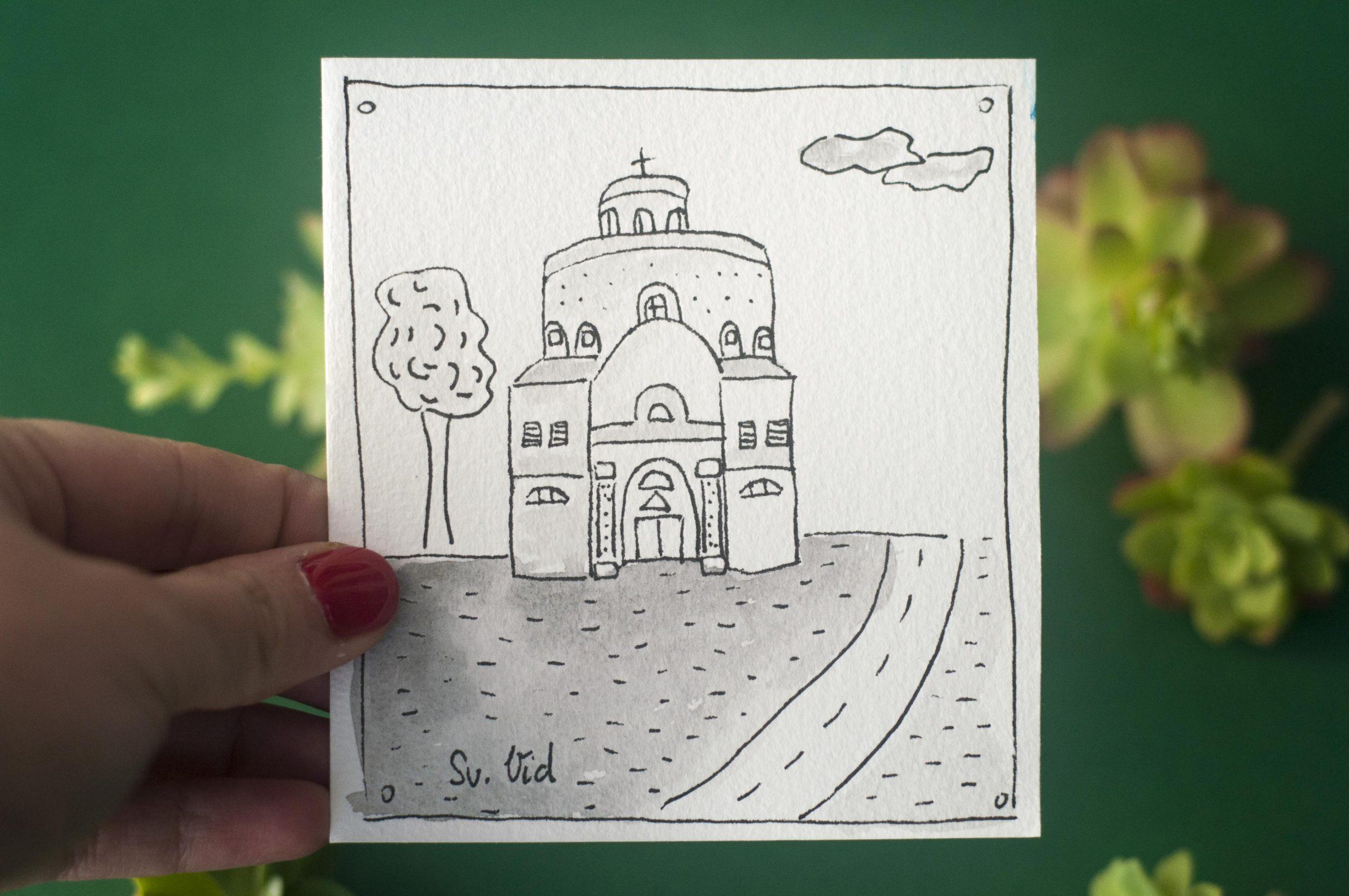Iz kreativne radionice Nisa design stigle su riječke ilustracije!