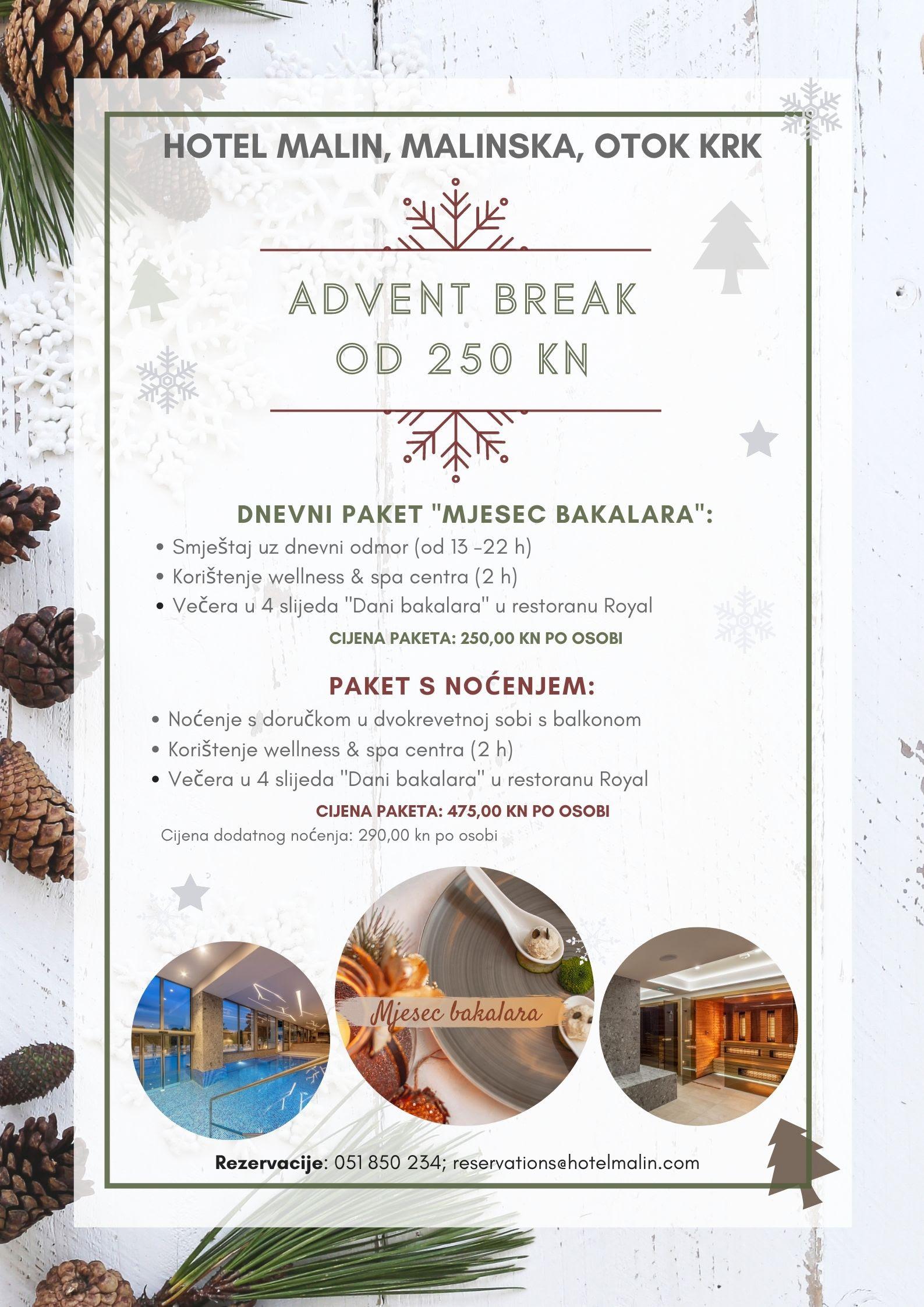 Advent break u Hotelu Malin