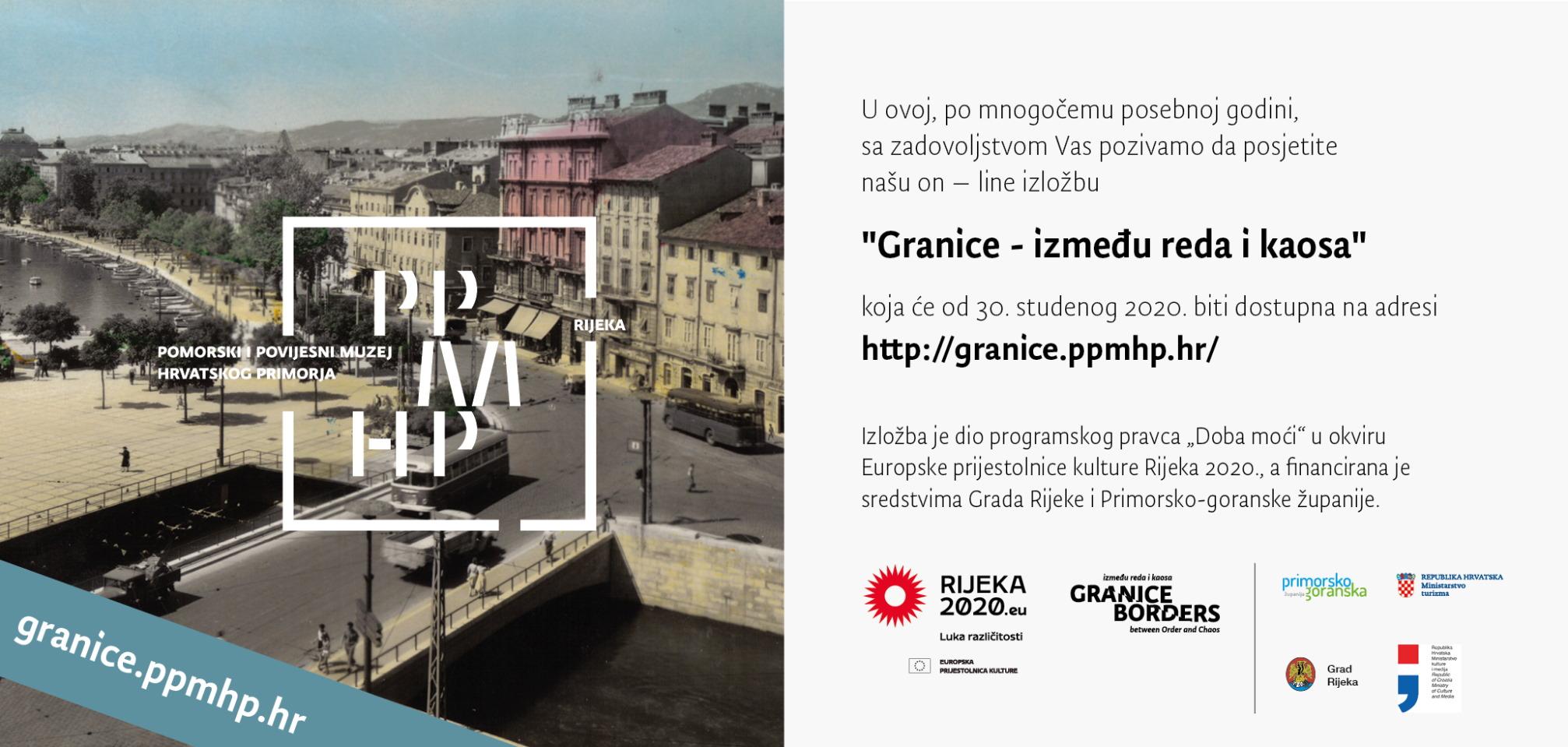 """U sklopu EPK 2020 otvorena je online izložba """"Granice - između reda i kaosa"""""""