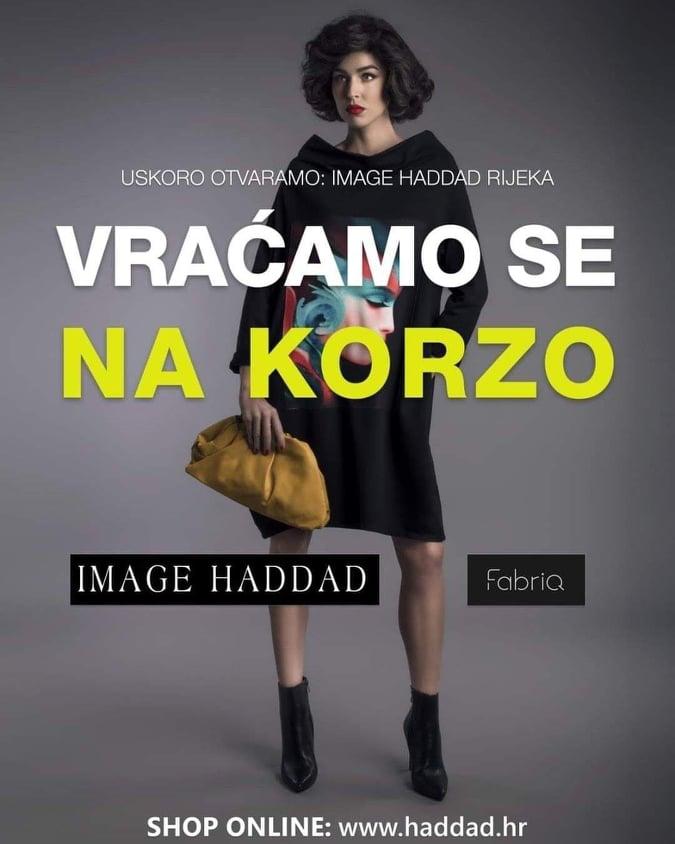 Ne propustite sutrašnje otvorenje Image Haddada u Rijeci!