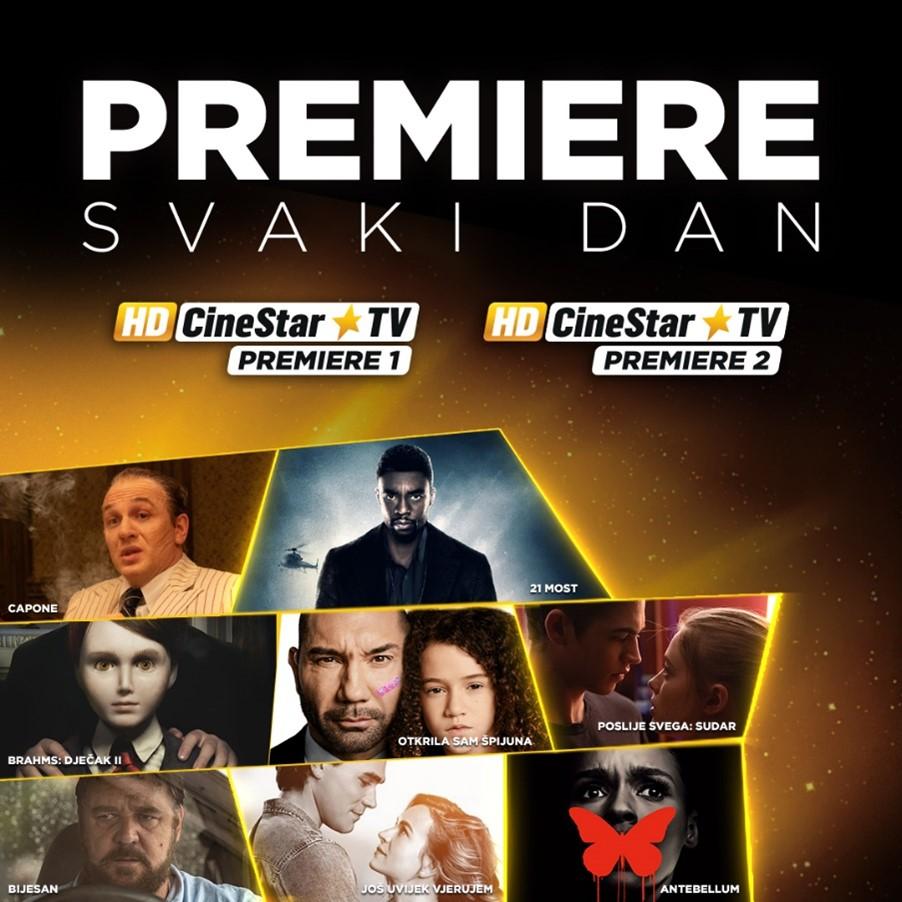 CineStar TV Premiere kanali predstavili nove filmove koje jedva čekamo pogledati