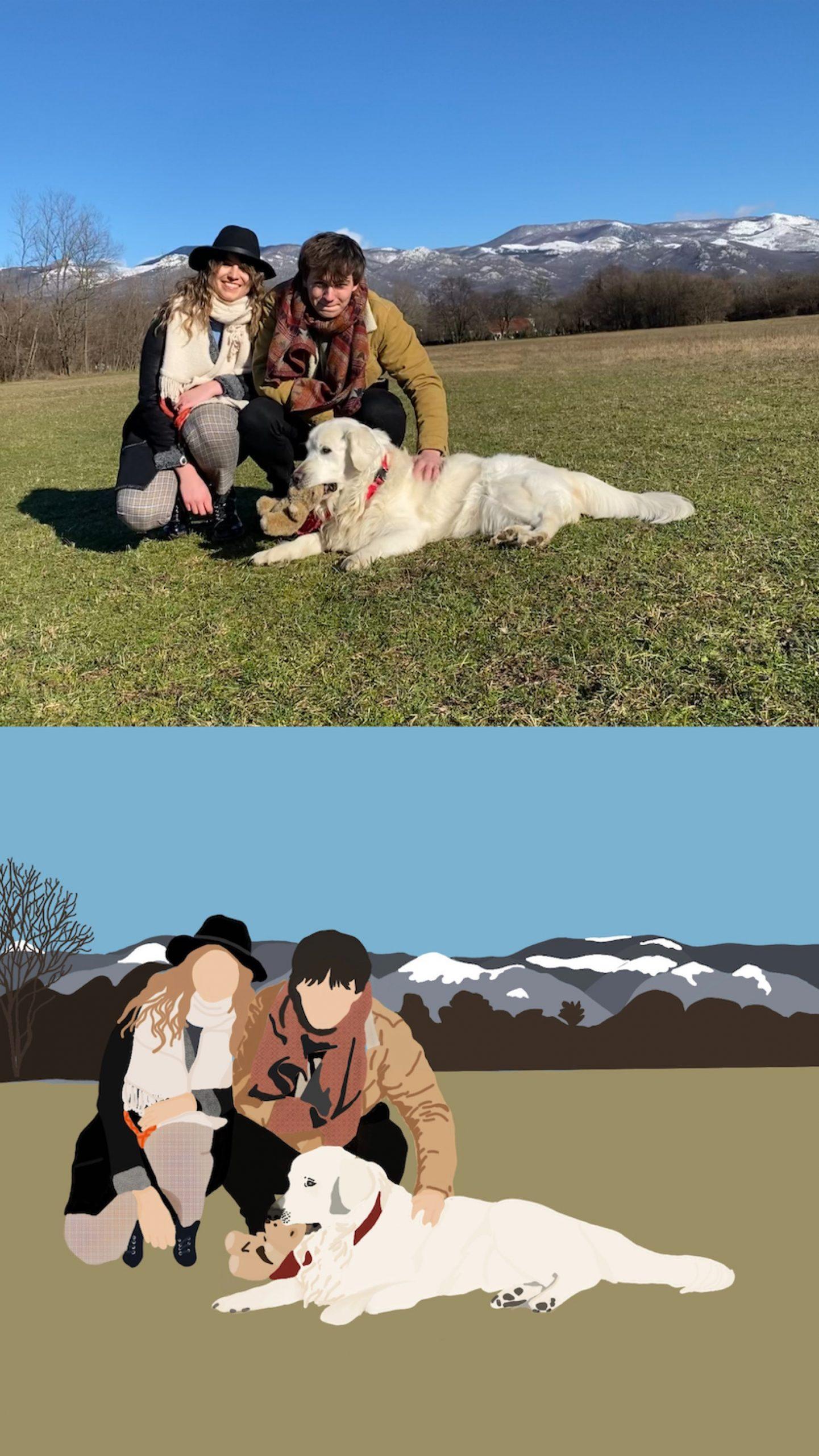 """Najljepše portretne ilustracije pronašli smo kod """"horses ate the flowers"""""""