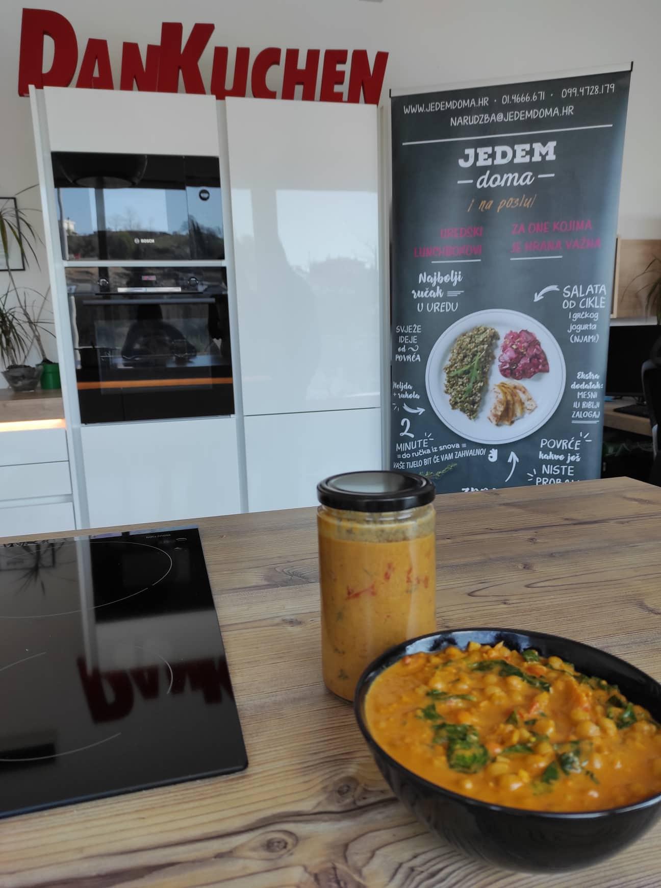 Extravagant chef: curry od slanutka i špinata
