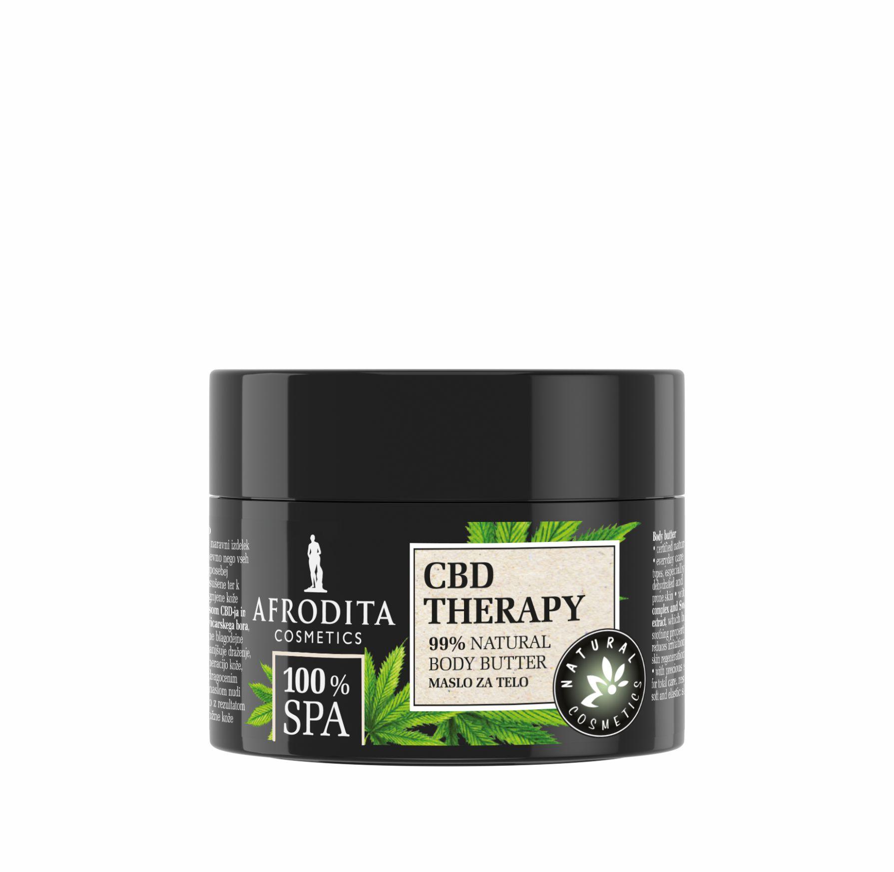 Osjetite boho vibracije uz najzeleniju liniju do sada: Afrodita 100% SPA CBD Therapy
